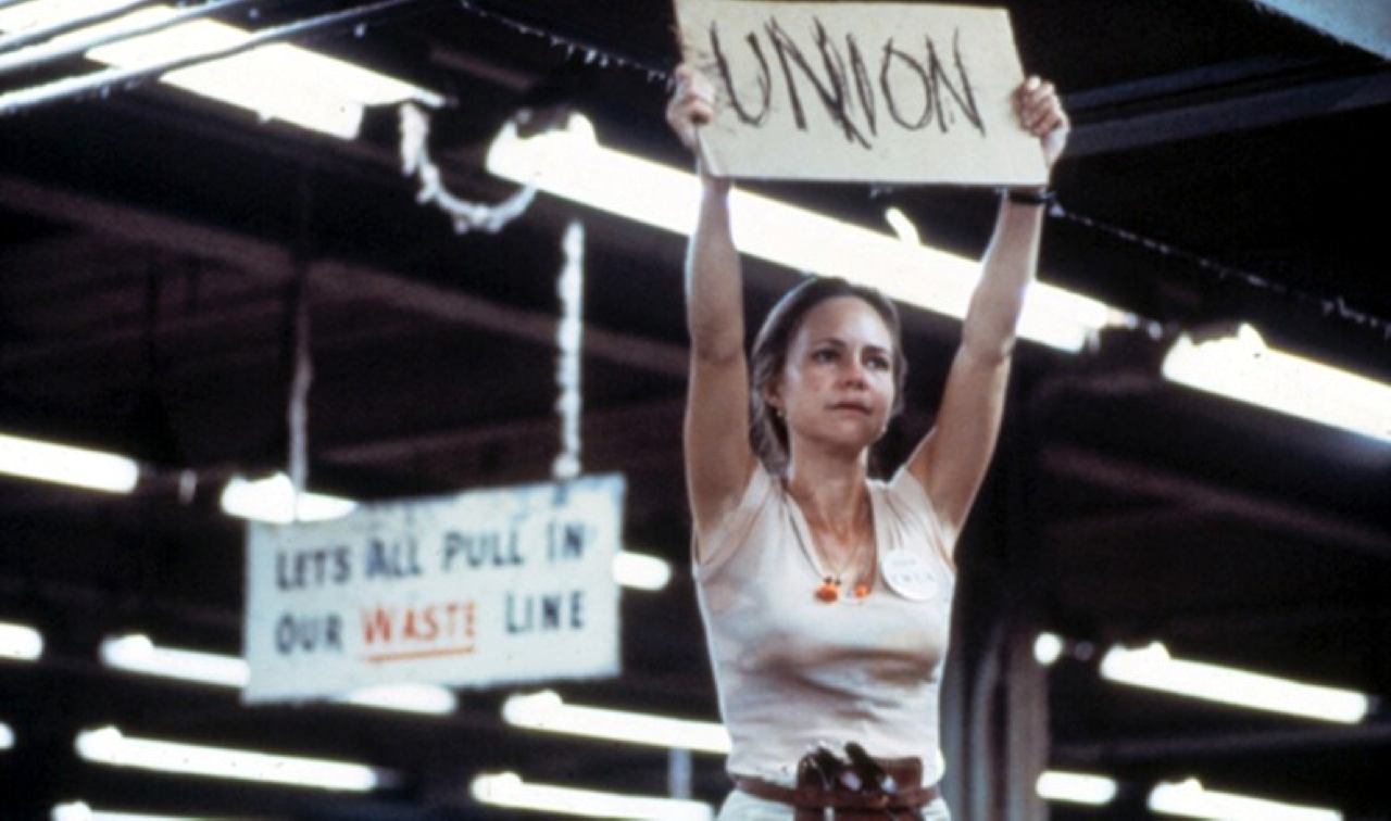Sally Fields as Norma Rae